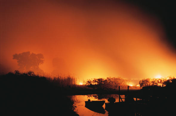 Fire on the Delta. Ian Michler