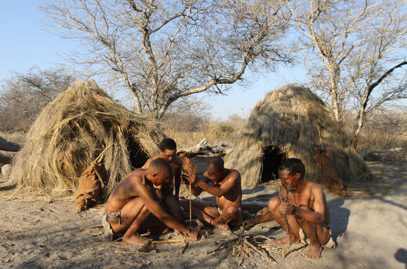 Cultural interaction with the SAN people of the Kalahari.