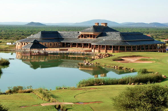 Phakalane Golf Estate and Hotel Resort view.