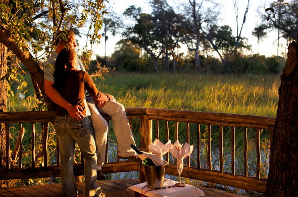 Romantic Honeymoon in Botswana.
