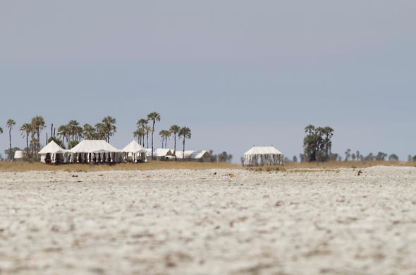 San Camp. Makgadikgadi, David Crookes