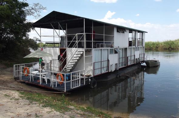 Kabbo House Boat. Okavango Panhandle